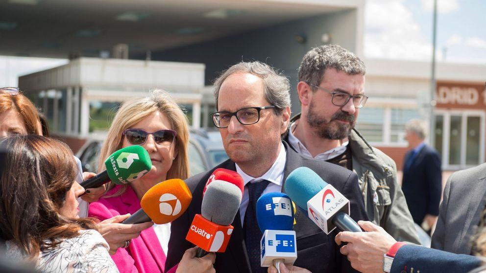 Quim Torra aplaza la toma de posesión del Govern y presentará recurso contra Rajoy