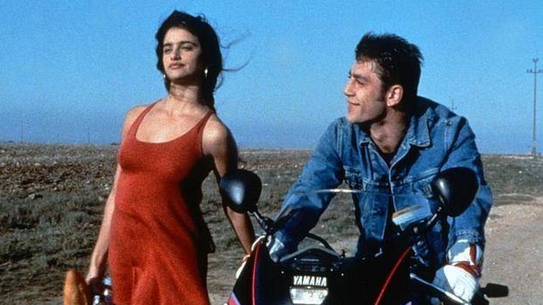 Penélope Cruz y Javier Bardem, en una imagen de 'Jamón, jamón'.