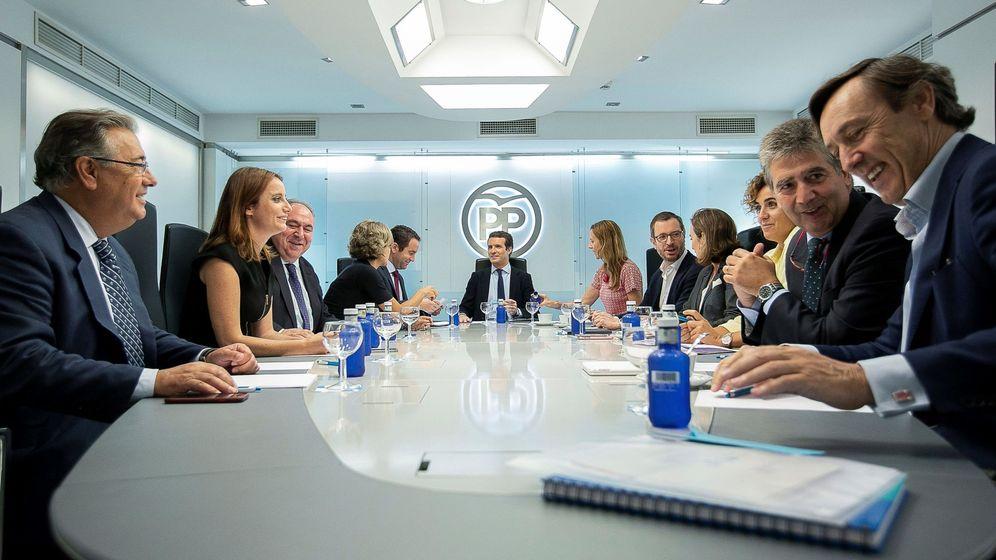 Foto: Comité de dirección del Partido Popular. (EFE)