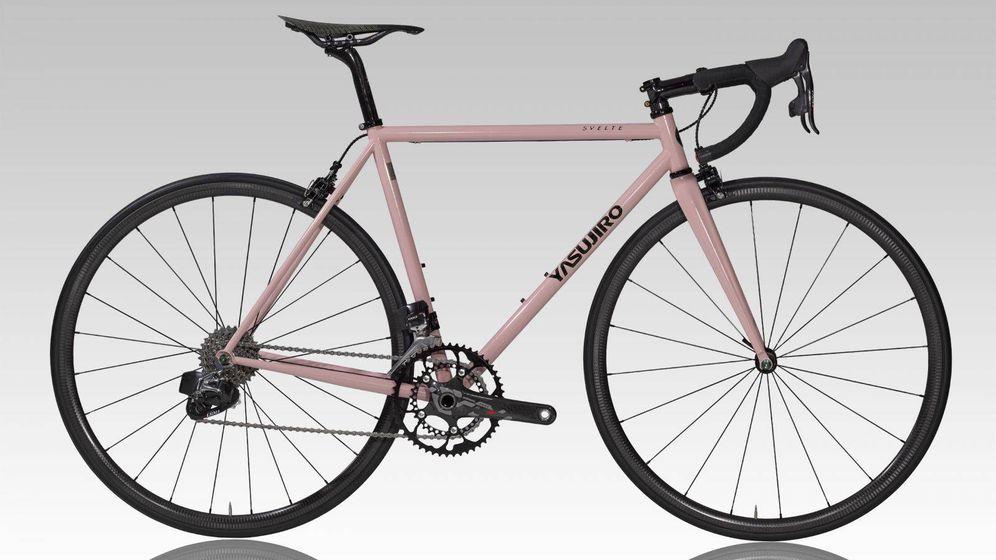 Foto: La Yosujiro Svelte, la bici de acero más ligera, presentada en Eurobike.