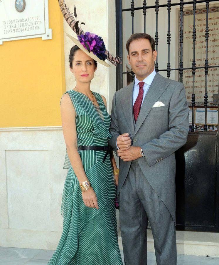 Foto: El Litri y Carolina Adriana Herrera en una imagen de archivo. (Gtres)