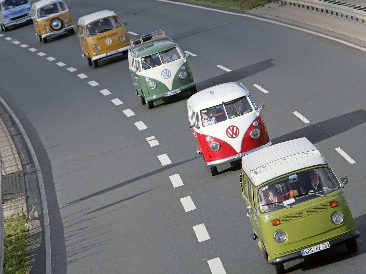 Foto: La primera reunión de furgonetas Volkswagen a nivel mundial fue en el año 2007.