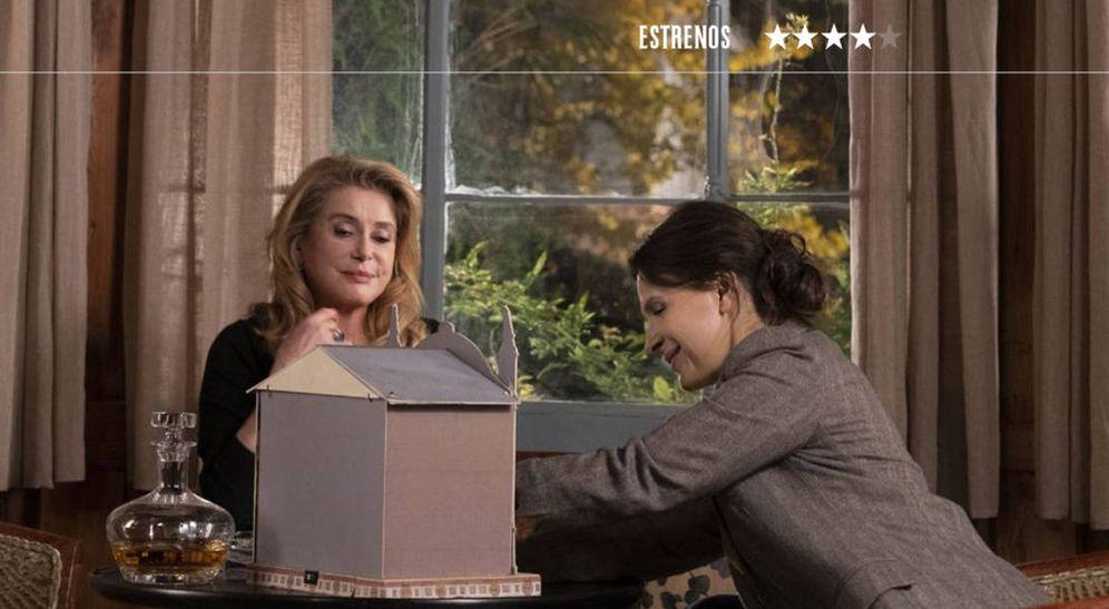 Foto: Las dos actrices más importantes del cine francés se juntan por primera vez a las órdenes de Kore-eda. (Golem)