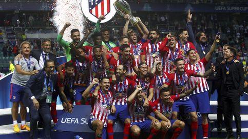 El Atlético, supercampeón de Europa