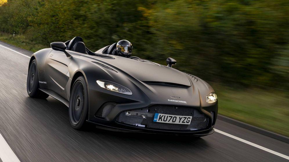Foto: Esta es la última creación en serie limitada de Aston Martin, el V12 Speedster.
