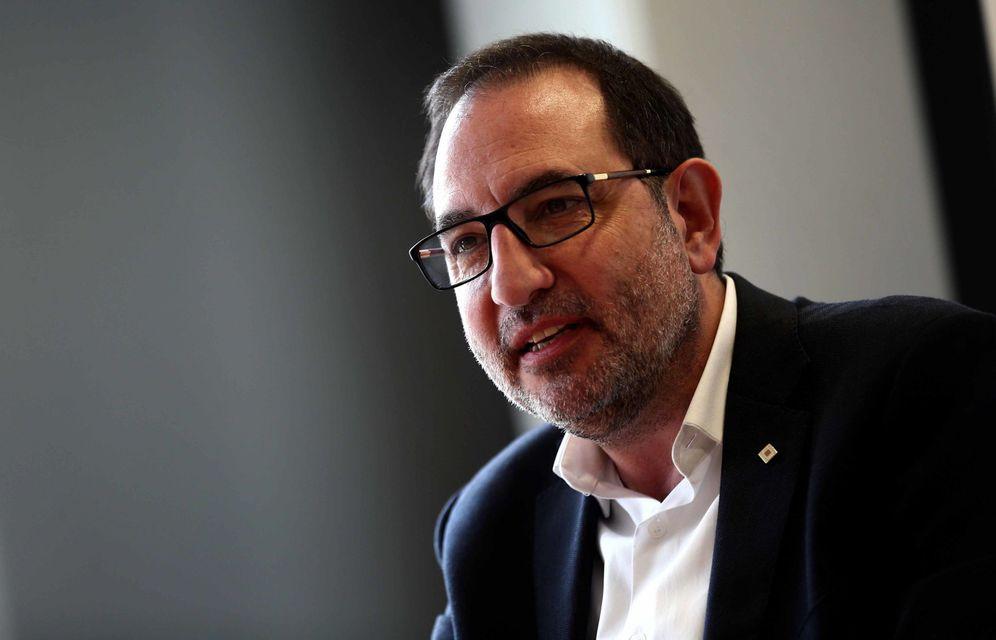 Foto: Ramon Espadaler, nuevo número tres del PSC por Barcelona y ex secretario general de Unió, en marzo de 2016. (EFE)