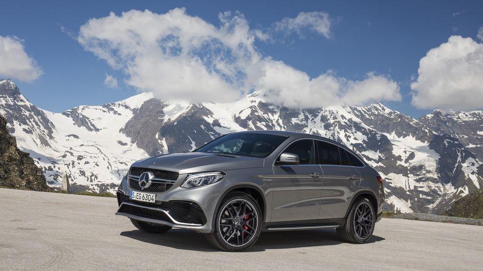 Mercedes GLE Coupé, respuesta al BMW X6