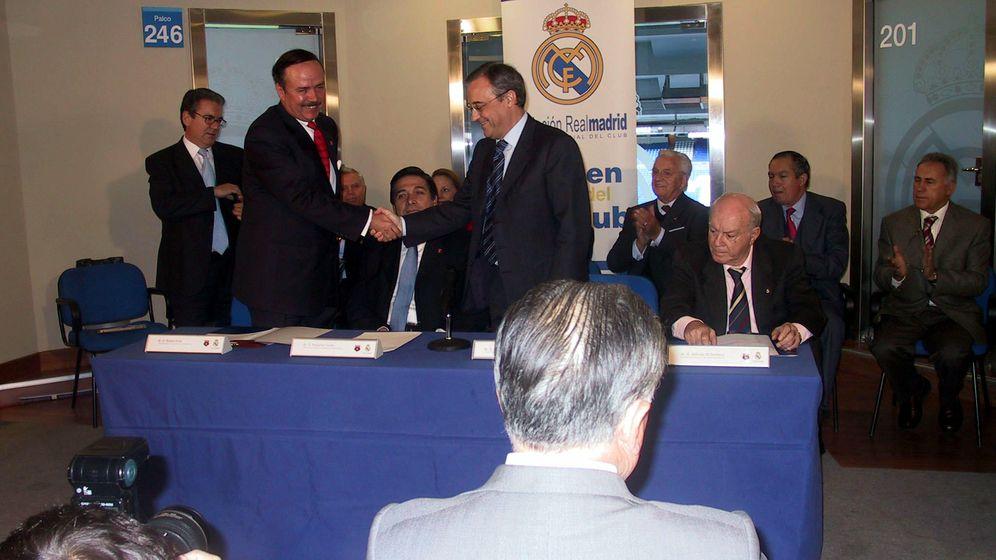 Foto: Florentino Pérez, en un evento de la Fundación Real Madrid (FOTO: Archivo LMG)