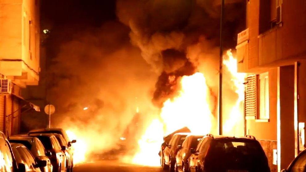 Buscan a un pirómano que ha provocado graves incendios en Palma de Mallorca