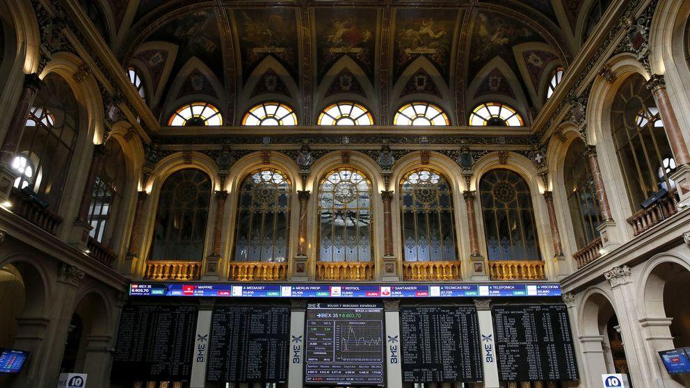 El Ibex se atraganta con Telefónica y la recogida de beneficio en Santander