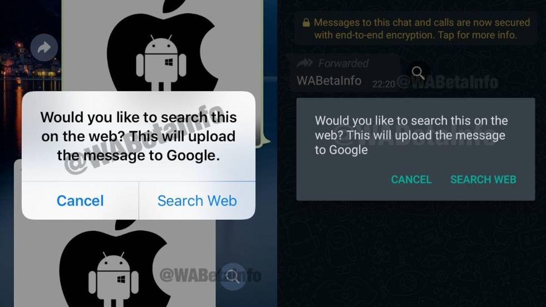 El botón que está probando WhatsApp. (Wabetainfo)