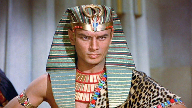 Yul Brynner fue Ramsés II en 'Los diez mandamientos'. (Filmin)