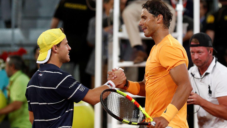 Rafa Nadal ha ganado a Diego Schwartzman en las cinco veces en que se han enfrentado. (Reuters)
