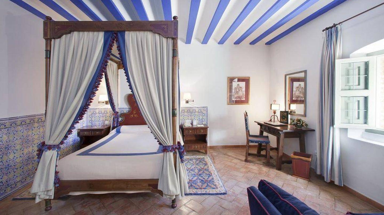 Una de las habitaciones del Parador de Turismo de Almagro.