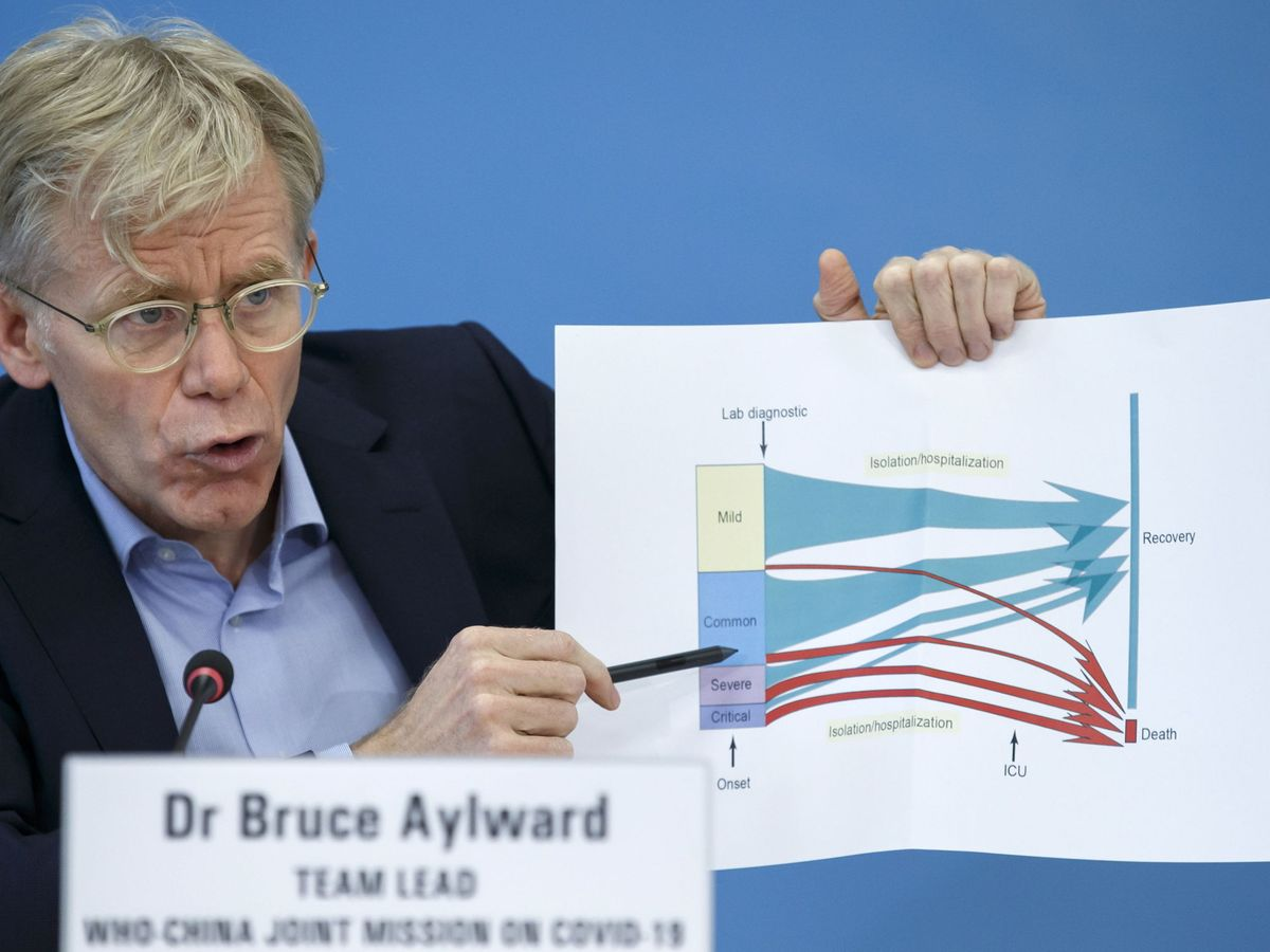 Foto: El epidemiólogo Bruce Aylward. (Reuters)