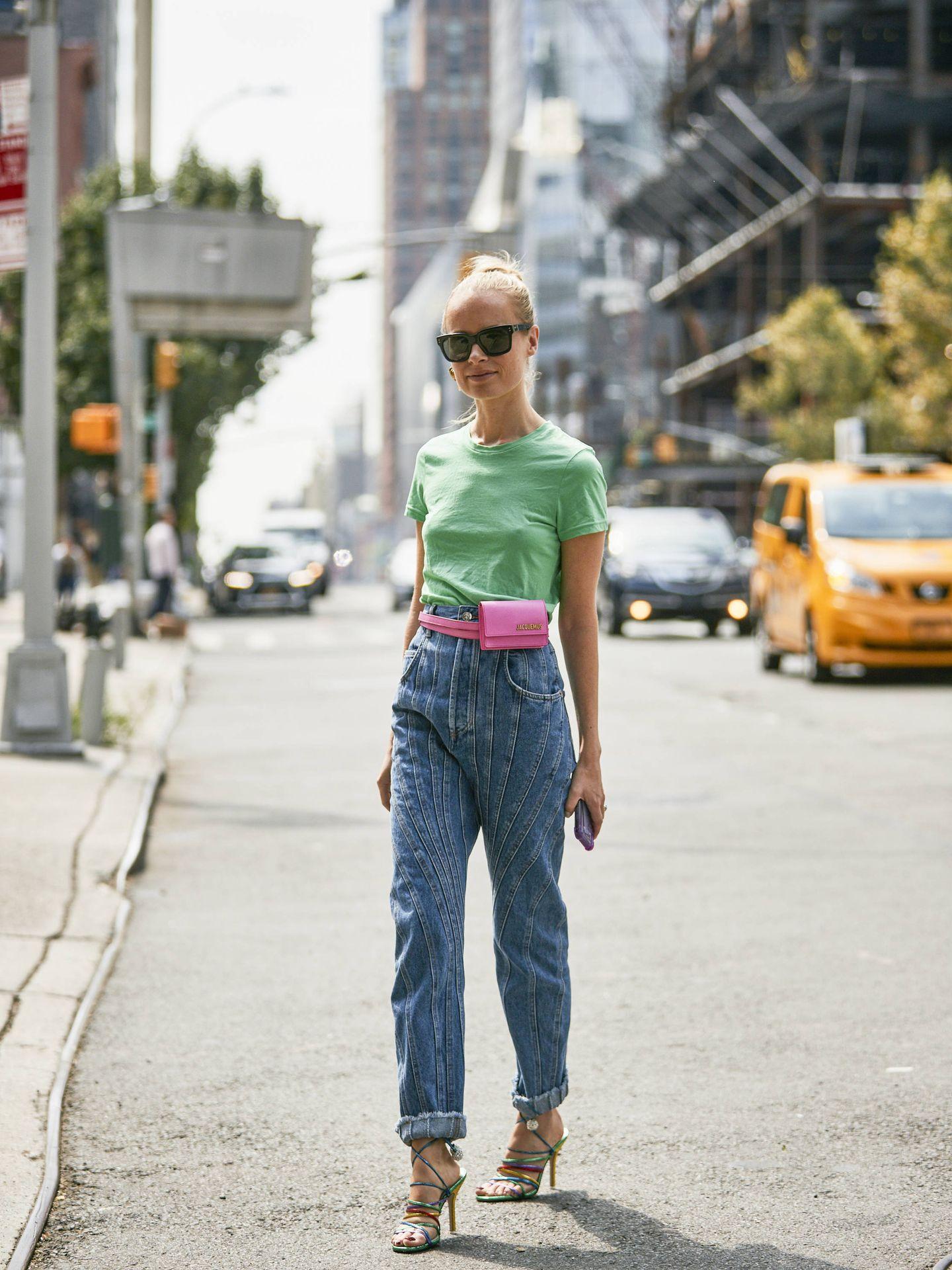 Una insider con jeans en verano. (Imaxtree)