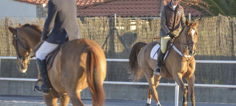 Foto: La infanta Elena y Luis Astolfi en Badajoz el pasado 30 de noviembre. (I.C.)