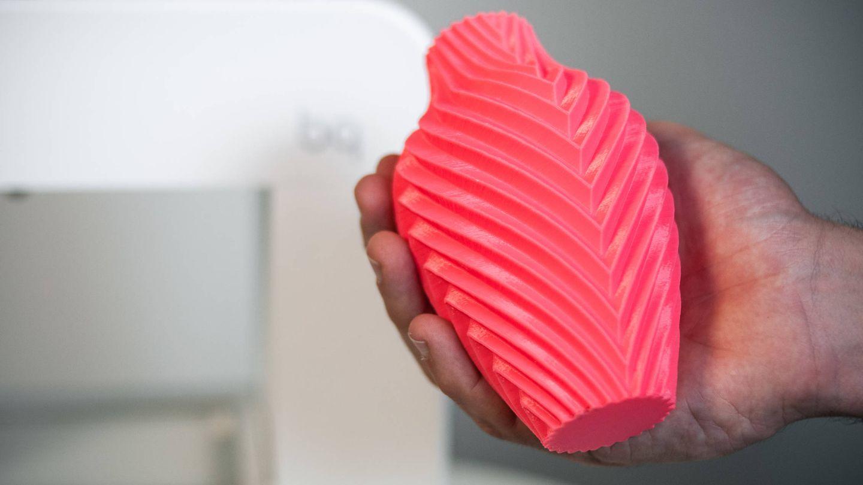 Vista del detalle conseguido con la impresora 3D. (C.Castellón)