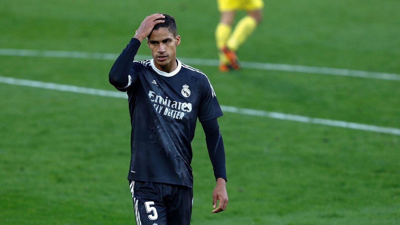 Varane, positivo por covid-19 en la semana decisiva: baja ante Liverpool y para el clásico