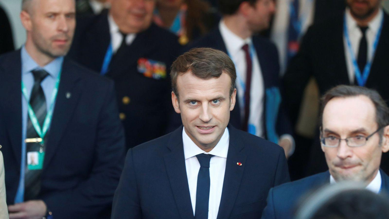 Foto: El presidente de Francia, Manuel Macron. (Reuters)