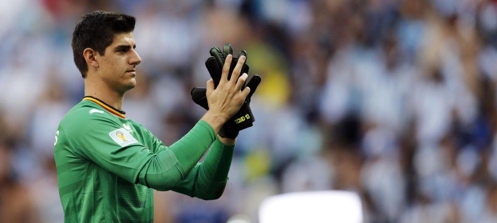 Foto: Courtois ha cerrado su etapa como jugador del Atlético de Madrid.