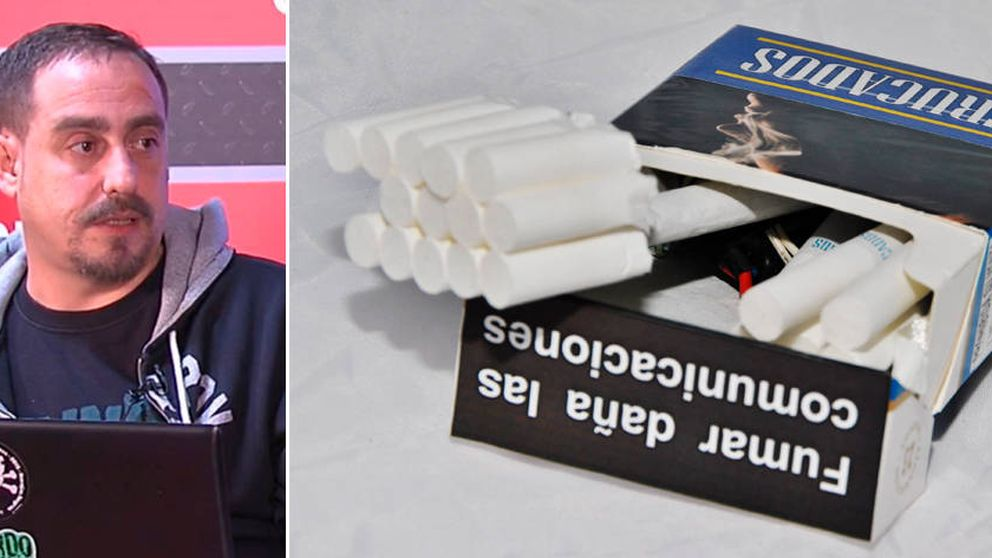 El español que ha convertido un paquete de Ducados en un comunicador secreto por 10€