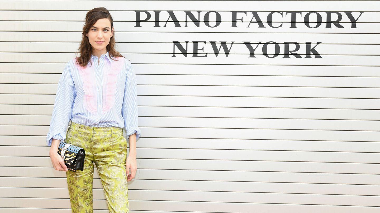 La 'it' y diseñadora, Alexa Chung, en una imagen de archivo. (Getty Images)
