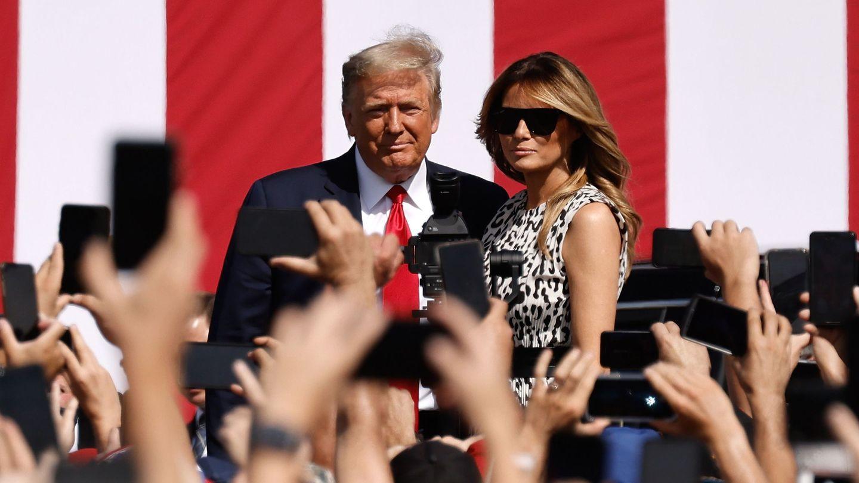 Donald y Melania. (EFE)