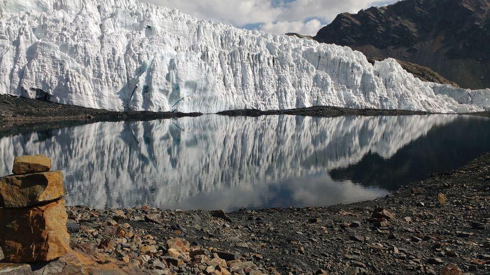 Foto: El cambio climático extingue los glaciares de Perú. (EFE)