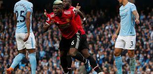 Post de Pogba y Mourinho aplazan el título del City de Guardiola con una remontada