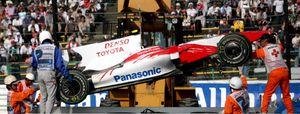 Timo Glock no podrá competir en el Gran Premio de Brasil