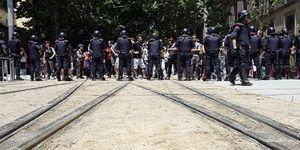 Barcelona 2011: ciudad de caos, violencia e indignación