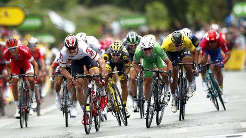 La 'photo' finish hace a Cavendish ganador de la tercera etapa del Tour