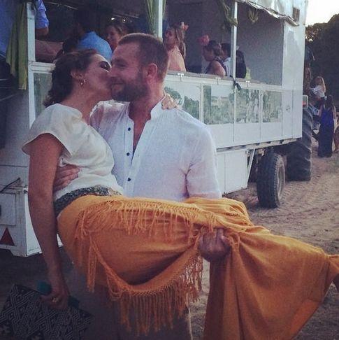 Foto: Eugenia Ortiz y su marido, Juan Melgarejo (Instagram)