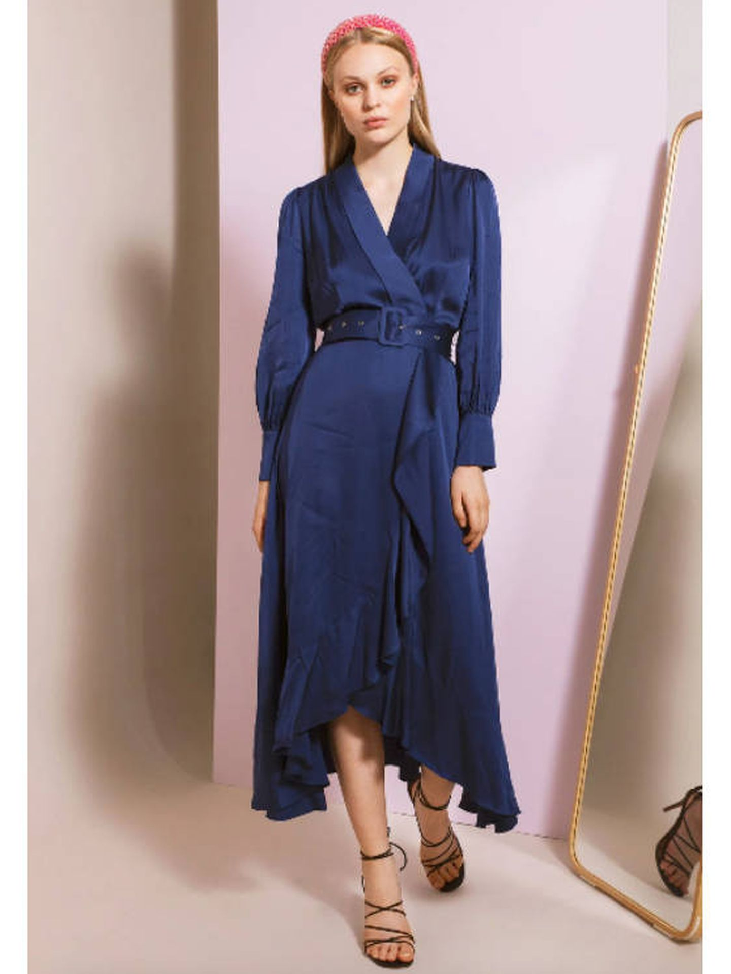 El vestido de By Malina. (Cortesía)