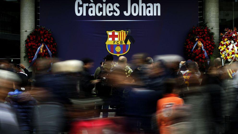 De Florentino Pérez a Puigdemont: multitudinario homenaje a Johan Cruyff