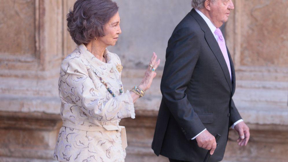 Foto: Don Juan Carlos y doña Sofía en la Misa de Pascua de abril.(REUTERS)