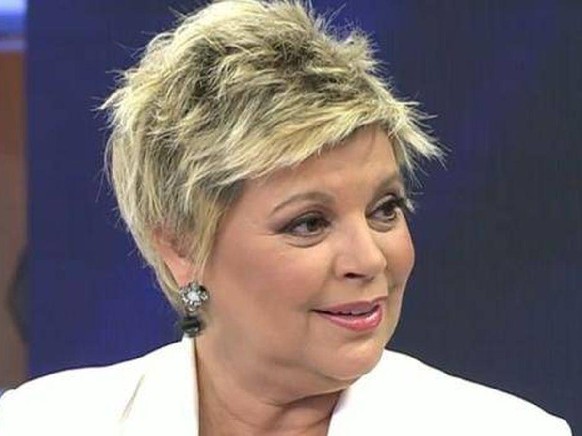 Foto: Terelu, durante un programa de 'Viva la vida'. (Telecinco)