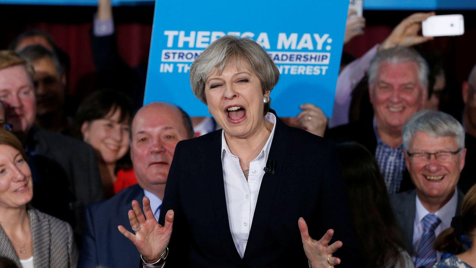 Foto: La premier británica, Theresa May (Reuters)