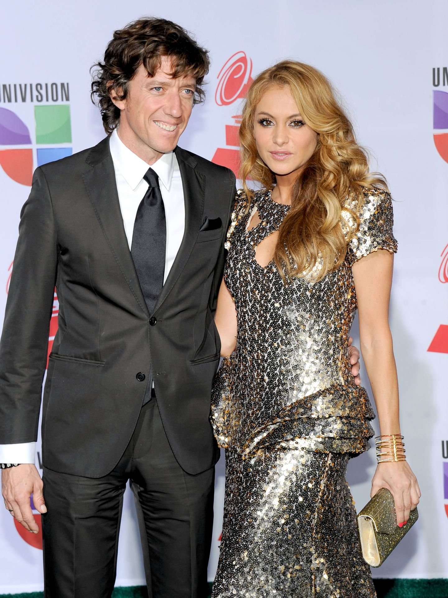 Colate y Paulina, en una imagen de 2011. (Getty)