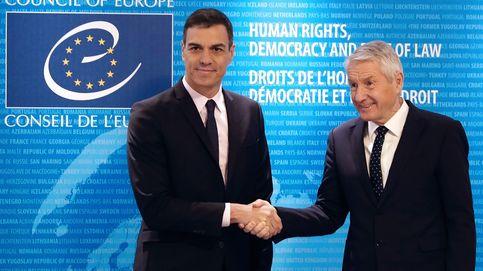 Sánchez defiende el respeto a los derechos frente a los relatos falsos del separatismo
