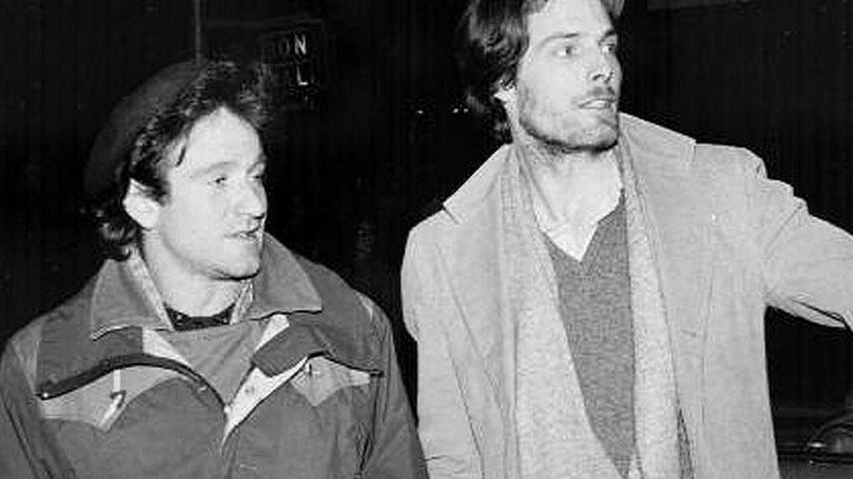 Robin Williams y Christopher Reeve, en sus años de estudiantes