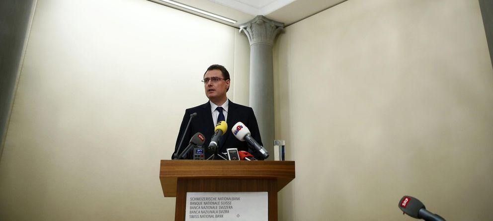 Foto: El presidente del Banco Nacional de Suiza, Thomas Jordan