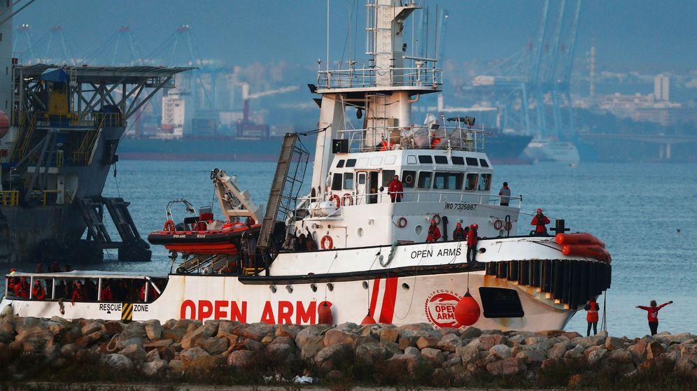 Foto: El barco Open Arms. (Reuters)