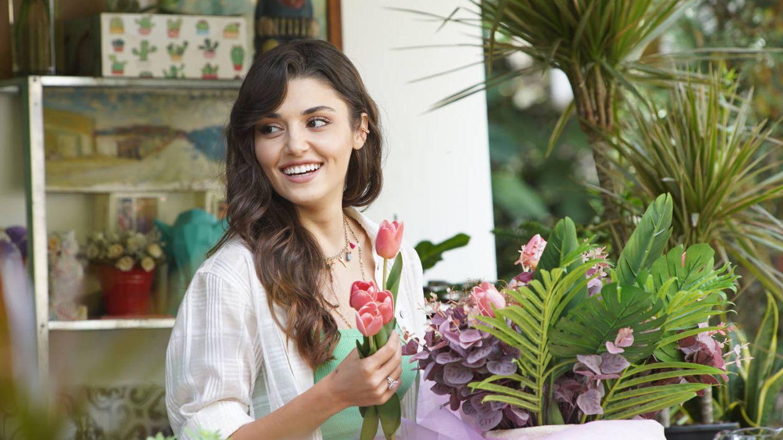 La protagonista de 'Love is in the air'. (Telecinco)