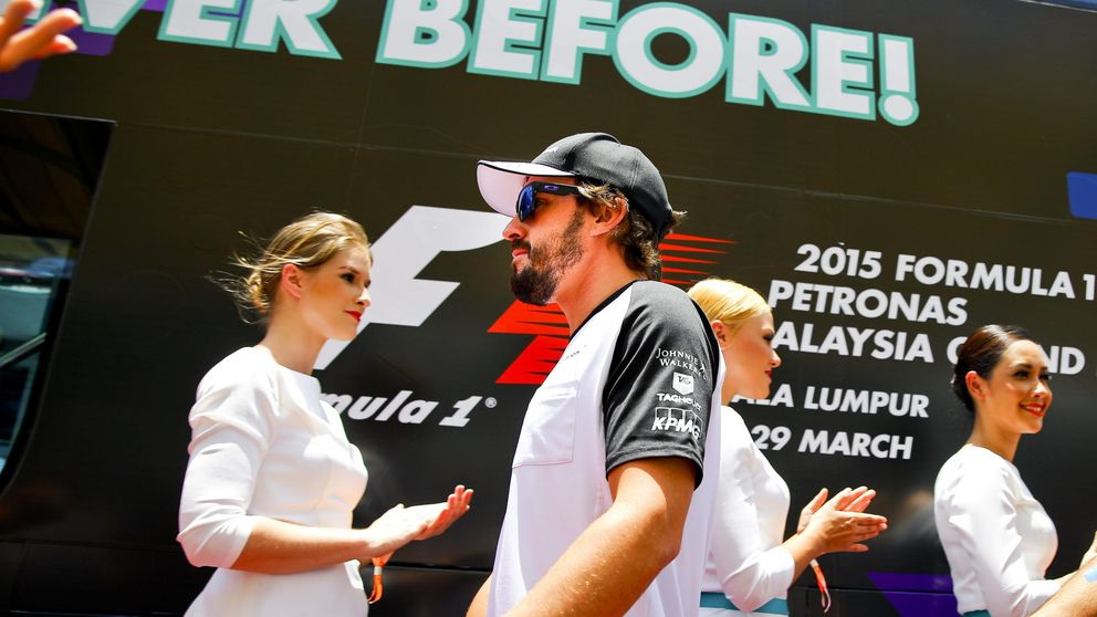 Alonso, sorprendido: Iba cogiendo a un Red Bull y a un Toro Rosso