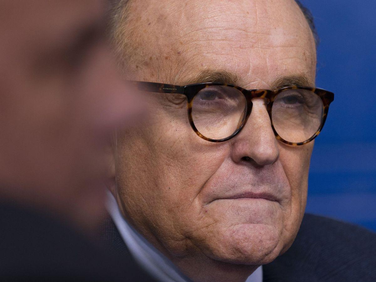 Foto: Rudy Giulian, durante un reciente acto. Foto: EFE EPA Chris Kleponis POOL