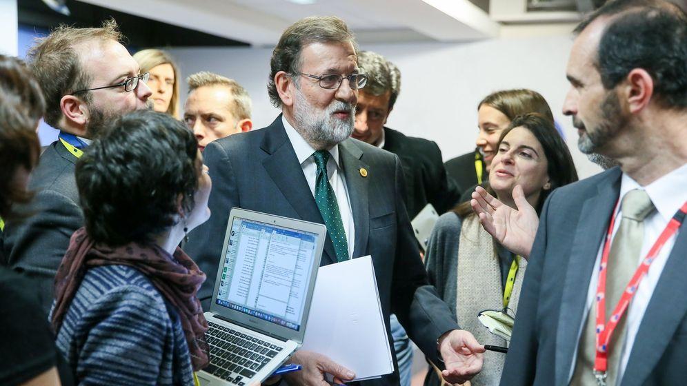 Foto: El presidente del Gobierno español, Mariano Rajoy, en Bruselas. (EFE)I