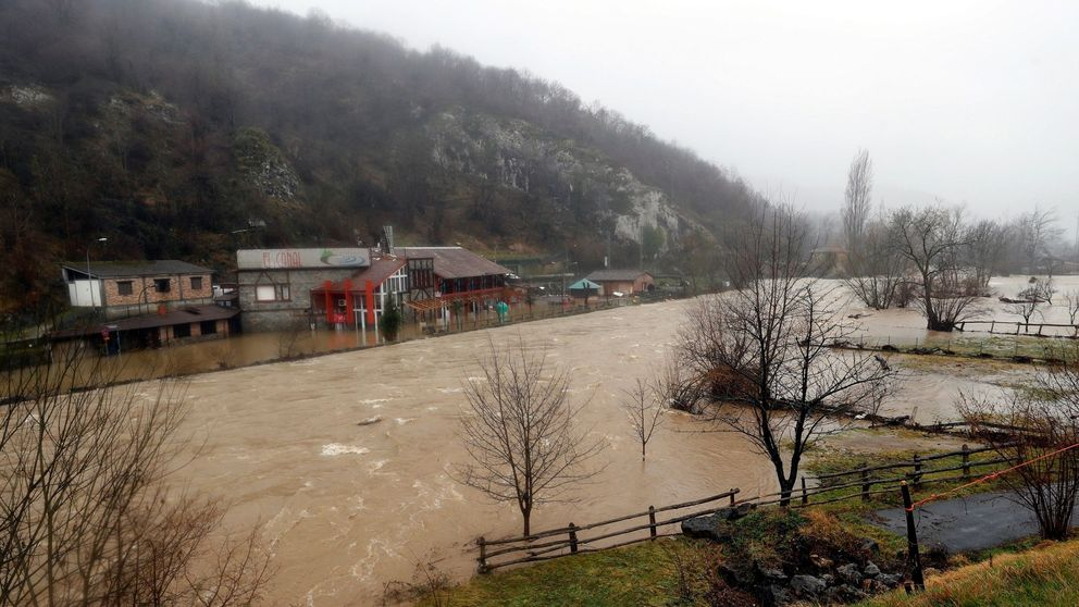 Cuatro muertos por las fuertes lluvias en Asturias