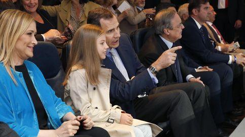 La infanta Sofía debuta en el fútbol una semana después que su hermana